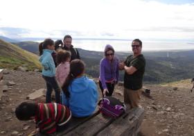義妹とハイメ・クアドラさんと山へ登る